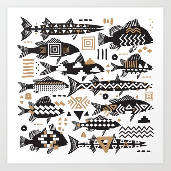 Boho Fishes by matise
