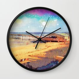Nags Head Pier Wall Clock