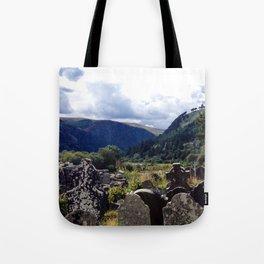 Glendalough, Ireland Tote Bag