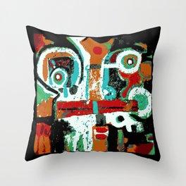 Great Face Throw Pillow