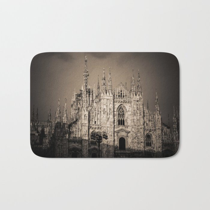 Duomo of Milan, Cathedral in the center of Milan Bath Mat