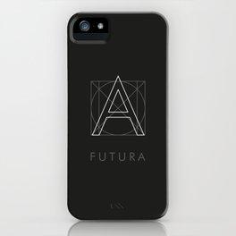 Futura Black iPhone Case