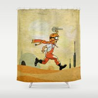 jedi Shower Curtains featuring Jedi soul by Tony Vazquez
