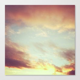 Fading Sunset Canvas Print