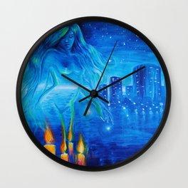 dream of love, sweet dream of love Wall Clock