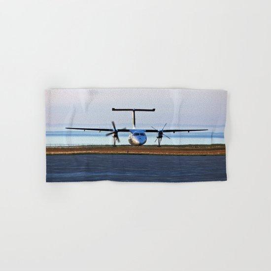 Plane Landing Hand & Bath Towel