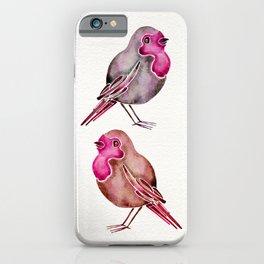 Rosie Birds iPhone Case