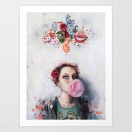 Selfportrait Art Print