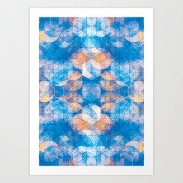 Cuben Kaleidoscope Art Print