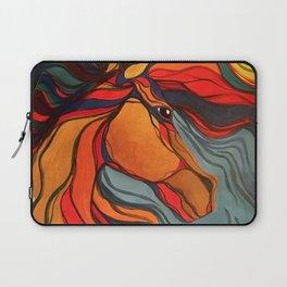 Wild Horse Breaking Free Southwestern Style Laptop Sleeve
