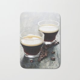 Coffee. Coffee Espresso. Cup Of Coffee Bath Mat