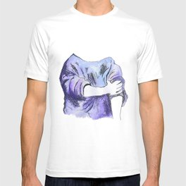 Rolled up T-shirt