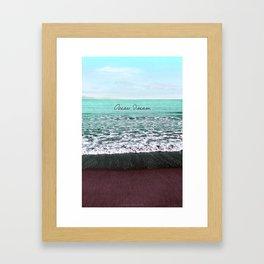 OCEAN DREAM VI Framed Art Print