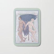 Hypnos and Thanatos (Sleep and Easeful Death) Bath Mat