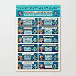 A Look at Logical Fallacies Canvas Print