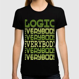 Cool awesome and green tee design for logic fanatics out there! Makes a nice gift!  T-shirt