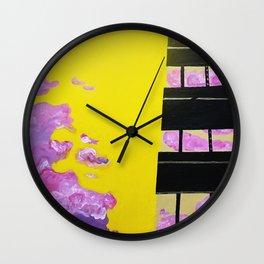 Nuclear Skies Wall Clock