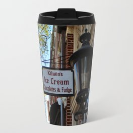 Ice Cream And Fudge Shop Travel Mug