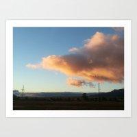 Arizona Skies Art Print