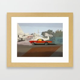 Flint St. Framed Art Print
