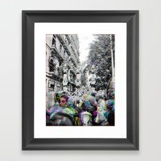 raising concealable copacetic limbs Framed Art Print