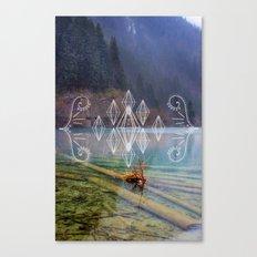 Jiuzhaigou Canvas Print
