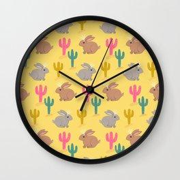 Jackalopes Wall Clock