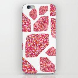 Pink Diamond Pattern 2 iPhone Skin
