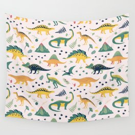 Land of Dinosaurs Wall Tapestry
