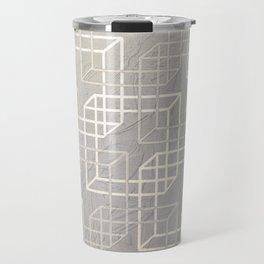 Linked Squares Travel Mug
