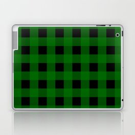 Pine Green Buffalo Check - more colors Laptop & iPad Skin