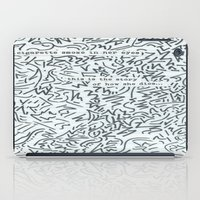 cigarette iPad Cases featuring Cigarette Smoke by Katie Kephart