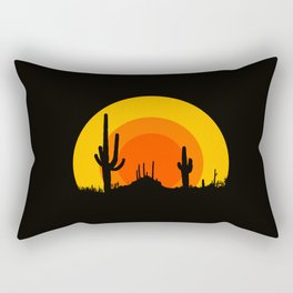 mucho calor Rectangular Pillow