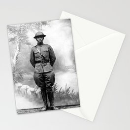 Harry S. Truman - WWI Military Uniform Stationery Cards