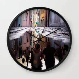 A Reflection of City Life by GEN Z Wall Clock