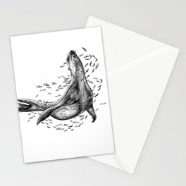 Seal and Fish Stationery Cards
