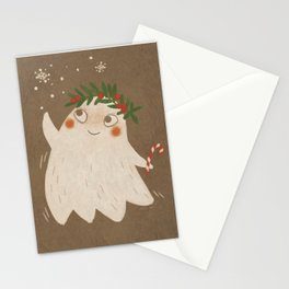 Christmas Ghost Stationery Cards