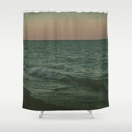 Disappear Into The Deep Shower Curtain