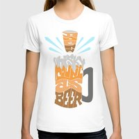 homer T-shirts featuring DoesBeerCountAsWhiskey?-Homer by PositiveFuture