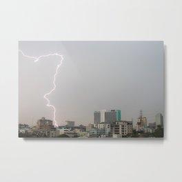 Bangkok Lightning #1 Metal Print