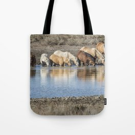 Bachelor Band at the Waterhole Tote Bag