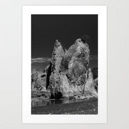 Double Stack Art Print