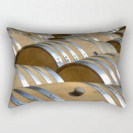 Barrels Of Wine Rectangular Pillow