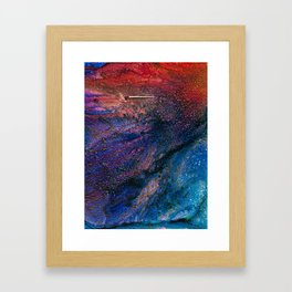 Comet Framed Art Print