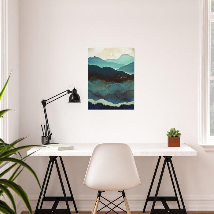 Indigo Mountains Poster