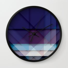 Scottish Geo Tartan Wall Clock