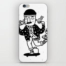 Skate Foodie iPhone Skin