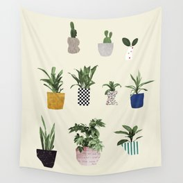 HOUSE PLANTS Wall Tapestry