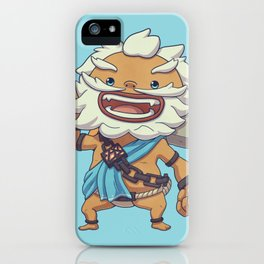 Vah Rudania Pilot iPhone Case
