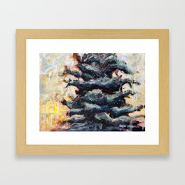 Route to Happiness Tree Framed Art Print